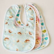 <b>1Pc</b> Water-proof Baby Bibs Newborn Double Layer Infant Burp ...