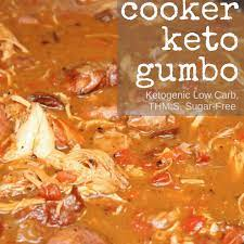 keto gumbo slow cooker thm s low