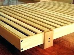 slat bed frame slats for frames wooden club on single ikea queen luroy metal wood platform