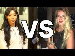 Image result for white female vs black female