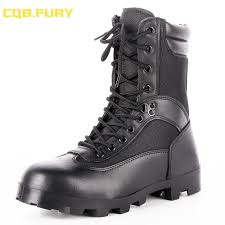 fury black mens leather summer waterproof boots combat breathable ankle army boot with zipper38 46 red shoes footwear from lbdshoes 54 7 dhgate com