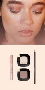 wedding makeup for brown eyes how to do a natural eyeshadow romantic wedding makeup