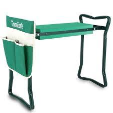 tomcare garden kneeler seat garden bench garden stools fordable stool with tool