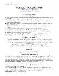 Bold Idea Rn New Grad Resume 14 Nurse Registered Cover Letter