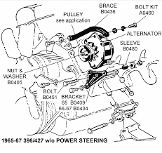 w o power steering diagram view chicago 1966 67 396 427 w o power steering diagram view chicago corvette supply
