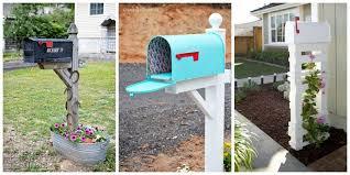 painted mailbox designs. Painted Mailbox Creative Brick Wood 8 Easy DIY Designs Decorative