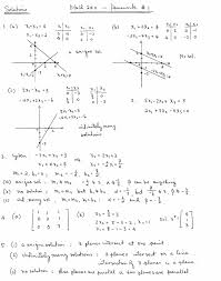 math homework assignment  linear equations assignment 1