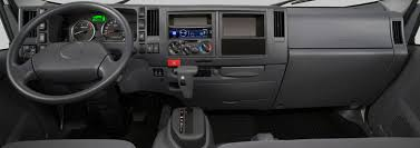 isuzu commercial vehicles low cab forward trucks commercial interior