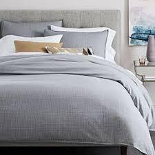 Quilt Covers | west elm AU & Organic Dobby Dot Quilt Cover + Pillowcases - Platinum ... Adamdwight.com