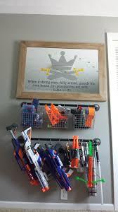 24 ideas for diy nerf gun rack. Pin On Guns