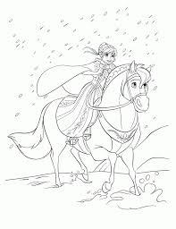 Kleurplaat Elsa En Anna Jong Frozen Kleurplaten Kleurplatenpagina
