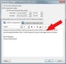 Automatic Respond How To Set Up Automatic Email Replies When You Are On Vacation