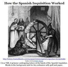spanish inquisition essay meg stapleton staplemeg twitter me and staplemeg wandered into a live jazz show for bbcradio we