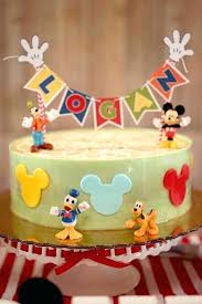 mickey mouse cake ideas for kids prty krs ides