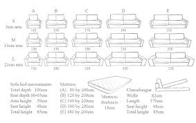 size of sofa bed conceptstructuresllc com