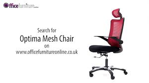 office chair guide. Optima Mesh Office Chair Features And User Guide I