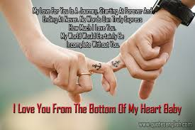 Best I Love You Quotes Cool Best 48 I Love You Quotes And Images For Her In English Worth Of