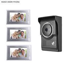 <b>2017 7INCH Video</b> door phone Intercom System TFT LCD Color ...