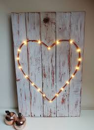 Heart Wall Art Pallet Wood Art Shabby Chic Decor