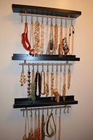 Bracelet Organizer Ideas Best 25 Hanging Jewelry Organizer Ideas On Pinterest Diy