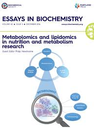 home essays in biochemistry the metabolome consists of a collection of biomolecules present in cells tissues or body fl uids in a certain moment or physiological situation