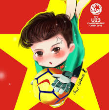 Loạt ảnh Fan-art siêu cute của U23 Việt Nam - FC Sinh Viên