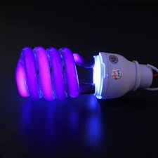 Black Light Bulbs Us 4 55 31 Off Dc12v 40w Uv Ultraviolet Fluorescent Blacklight Light Bulb Lamp Cfl W Clip Uv Gel Curing Lamps In Uv Gel Curing Lights From Lights
