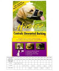 The Husher Elastic Anti Barking Training Muzzle Size 00