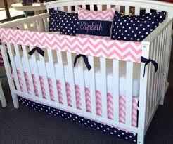 pink crib bedding separates