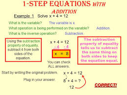 subtraction the inverse operation of subtraction is addition the inverse operation of multiplication is division the inverse operation of division is