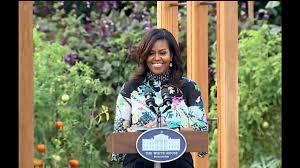 Michelle Obama Kitchen Garden First Lady Michelle Obama Full Speech White House Garden Oct 5