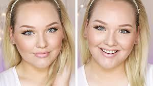 makeup tutorial fresh and flirty everyday natural look nikkietutorials