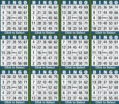 Game Cards Bingo Game Cards Generator