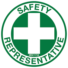 safety representitive safety representative hard hat emblem ms carita