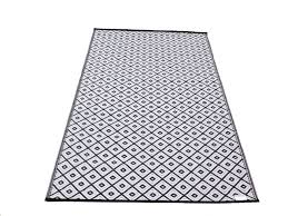 mad mats recycled plastic rug 5x8 reversible indoor 1000 ideas new quality plastic outdoor arabian nights black rug