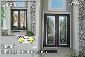 replacement front door glass single front door with glass insert partial size the residence regarding
