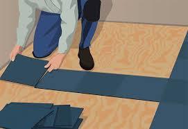 distribute equal edging installing carpet tiles