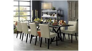 crate barrel furniture reviewslowe ivory leather. Ivory Leather Dining Chairs Lowe Chair Crate And Barrel Kitchen Furniture Reviewslowe E