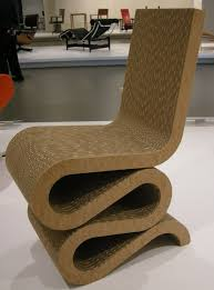 Corrugated Cardboard Furniture Cardboard Chair Designs Peeinncom