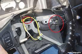 how to replace jeep grand cherokee 99 04 clock spring jeeps guru clock spring 8