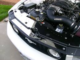 2005-2009 Mustang V6 & GT Radiator Stainless Cover w/NXT Radiator ...