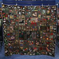 106 best Vintage crazy quilts and techniques images on Pinterest ... & Crazy quilt circa 1900 from Antiques Road Show Adamdwight.com