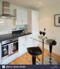 Bar In Kitchen Granite Topped Breakfast Bar In Kitchen With Decorative Fretwork