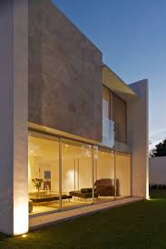 View modern house lights Outdoor Lighting Casa Natalia Metal And Wood Shutters House In Mexico By Agraz Arquitectos Metal And Stevenwardhaircom Interior Design Metal And Wood Shutters House View And Lights