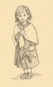 pioneer drawing. molly the pioneer girl by camartin drawing