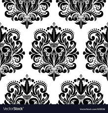 Damask Pattern Free Beautiful Seamless Damask Pattern Royalty Free Vector Image