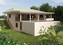 Artists Impression Of A 3 Bedroom House With Infinity Pool