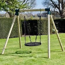 rebo junior range wooden garden swing set junior mercury for just 129 95 outdoor toys