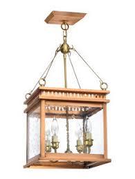 interior lantern lighting. John Street Collection JS-1 In Copper Bronze Lantern Hanging Electric Interior Lighting