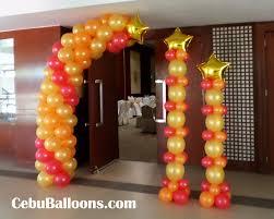 Sports Themed Balloon Decor 1950s 60s Cebu Balloons And Party Supplies